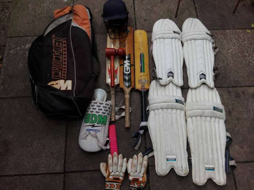 Cricket gear for sale. 0