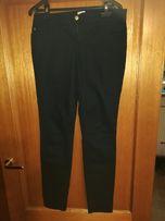 Ładne czarne spodnie rozm. 38 - długość 32