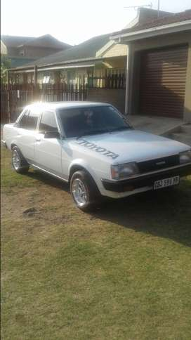 toyota 1.3 rwd old scool