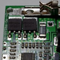 BMS 5S 30А 21V Контроллер для шуруповерта на Li-Ion аккумуляторе