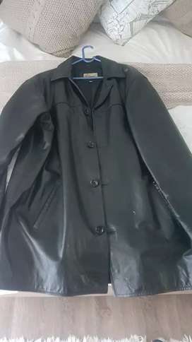 Man's imported Italian leather jacket XXL