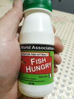 Активатор клева Зима-Лето. Fish Hungry (голодная рыба)( Аттрактант)