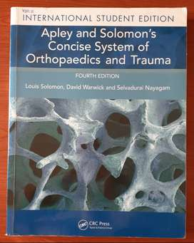 Apley & Solomon's Concise System of Orthopaedics and Trauma - 4th Ed