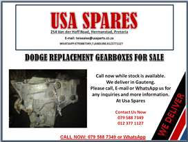 DODGE USED GEARBOXES FOR SALE- USA SPARES