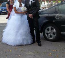Suknia ślubna pióra rozmiar 36
