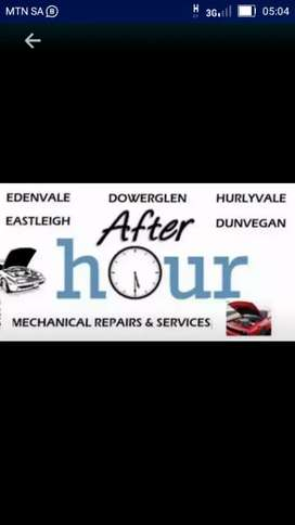 Mechanic on call after 4pm