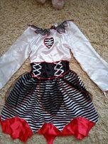 крутое платье плаття сукня для пиратской вечеринки