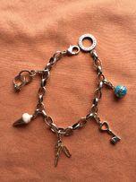 Продам серебряный браслет с шармами THOMAS SABO