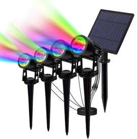 solar RGB led light