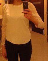 Biała bluzka ZARA