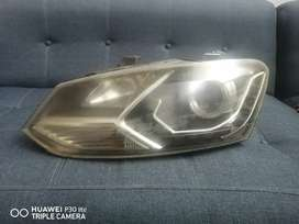 Polo GTI Aftermarket headlights.