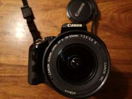 Canon EOS 350D Camera with 18-55mm lens and lowerpro bag