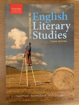 Introduction to English Literary studies Third Edition