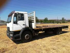 MAN M2000 LE 220 Hp Ton Flatbed Neat Original