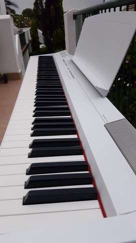 Yamaha Digital Piano P-150 with 3 Pedals and Piano Stand