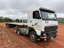 Volvo and trailer for sale