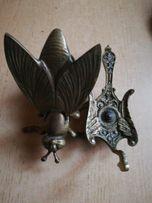 Popielniczki bronz