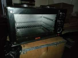 30L Olive 2 plate stove with Oven