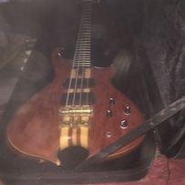 Profesjonalna gitara basowa PAS lutnicza neck thru