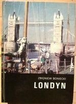Londyn ilustrowana książka z mapą -stan bardzo dobry! Bezpłatny kurier