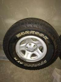 Jeep TJ rims and tyres for sale  South Africa