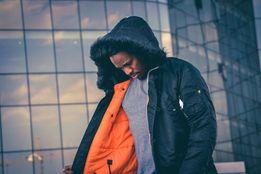 Зимові куртки аляски Alpha Industries, США