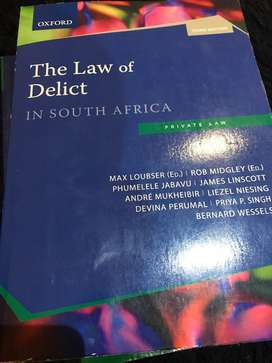 The Law of Delict in South Africa 3e
