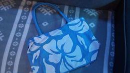 Niebieska torebka wiosna - lato