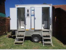 Mobile fridges and toilets for hire