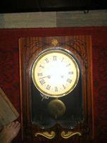 Часы настенные Янтарь с боем