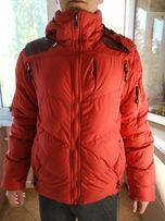 Продам пуховик ralph lauren красный очень теплый