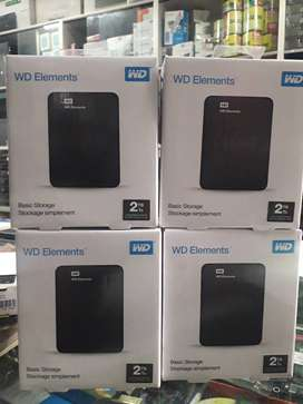 WD Elements Portable Storage 2TB Sealed at the lowest Price