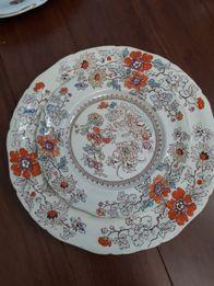 Porcelana Mason's, talerz deserowy i obiadowy