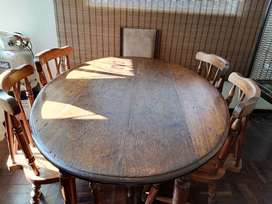Dining room table and 4 chairs price negotiable