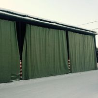 Брезентовые шторы, полипропиленовые накрытия