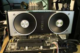 (Used, Like New) Nvidia GeForce RTX 2080 Ti Founders Edition