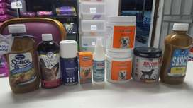 Dog nutritional suppliments and medines