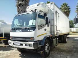 ISUZU FVR900 FRIDGE TRUCK