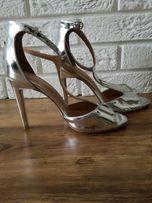 Sandaly Metaliczne r.40