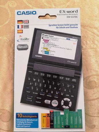 Новий електронний словник Casio EX-word EW-570 C Тернополь - изображение 1