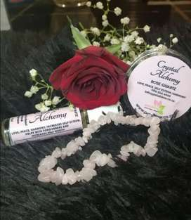 Crystal bracelets with crystal and aromatherapy perfume