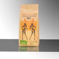 Бразилия Арабика Сантос кофе в зернах. Кава в зернах. Свежеобжаренный.