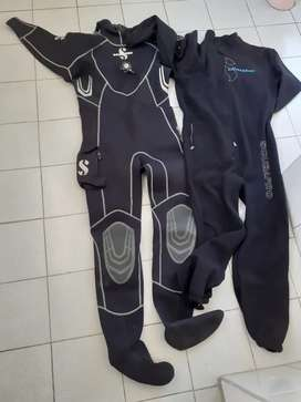 SCUBA PRO Ever dry 4 suit with inners