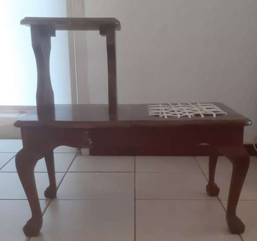 Telephone table chair for sale