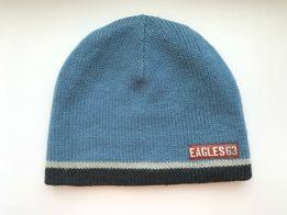 Синяя шапка mothercare оригинал