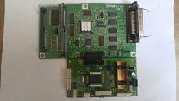 Платы блок питания двигатель шаговый принтера Lexmark 4026 Optra E за