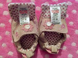 Детская замшевая обувь Next