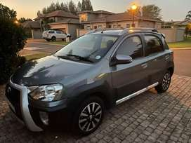 2018 Toyota Etios 1.5 Cross On sale!!