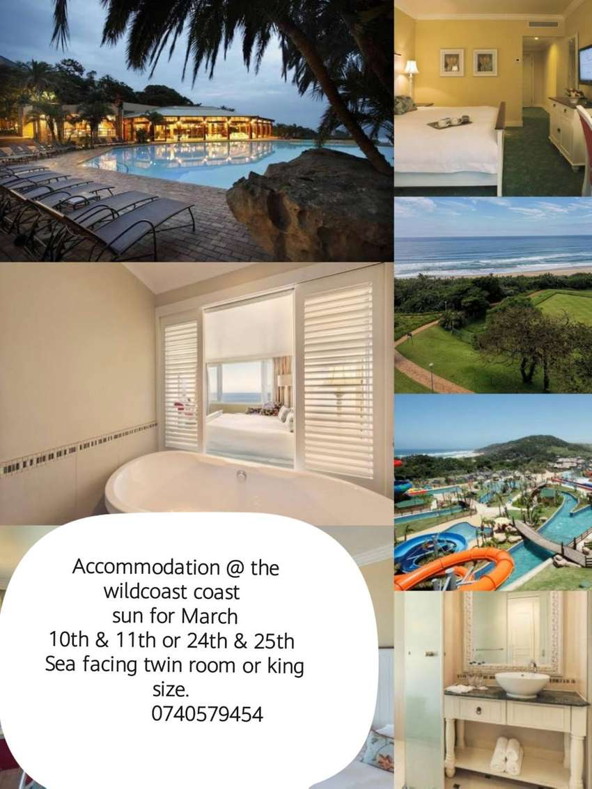 Wildcoast sun acc holiday for March