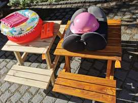 Out door table for the kids